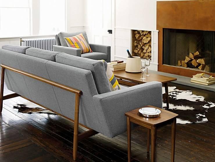 Sofa Raleigh: Salas de estilo  por Design Within Reach Mexico
