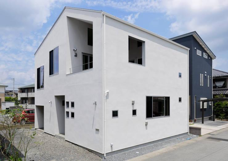 外観: インデコード design officeが手掛けた家です。