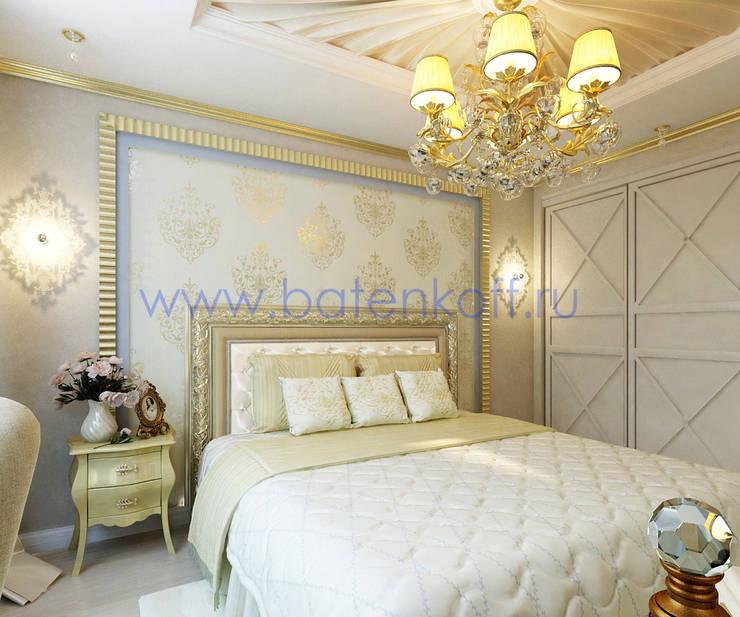 Bedroom by Дизайн студия 'Дизайнер интерьера № 1', Classic Paper