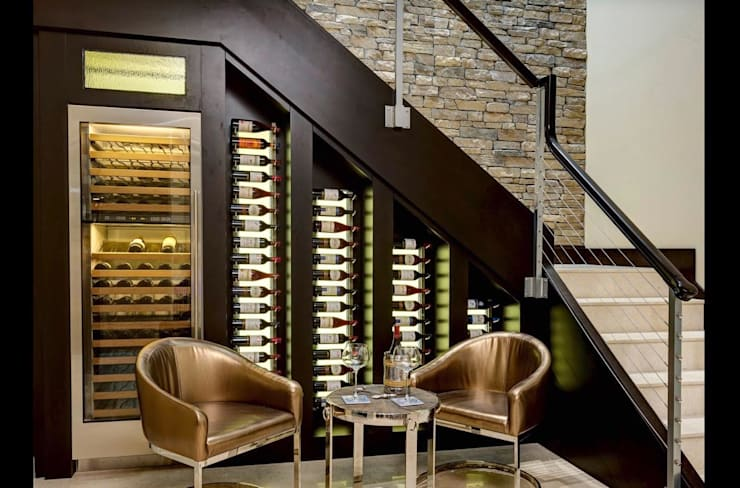 Bodegas de estilo  por WINE at HOME