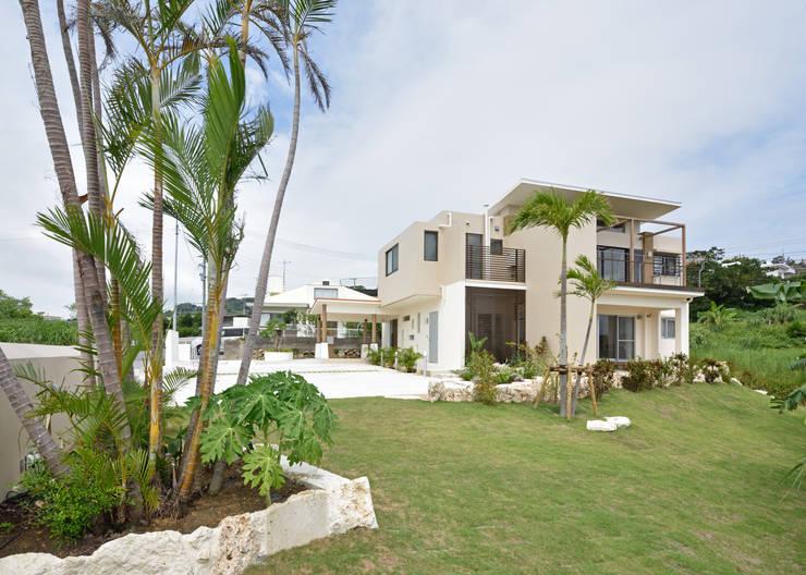 風の通る家: アーキペラゴデザイン一級建築士事務所が手掛けた家です。,モダン
