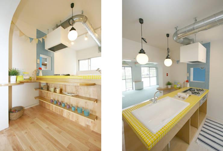 鴨居プロジェクト『メルヘン』: 株式会社しあわせな家が手掛けたです。