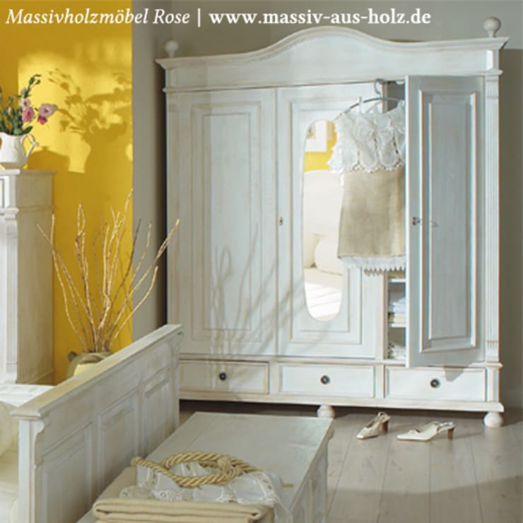 Kleiderschrank Im Landhausstil Massivholz Von Massiv Aus Holz Homify