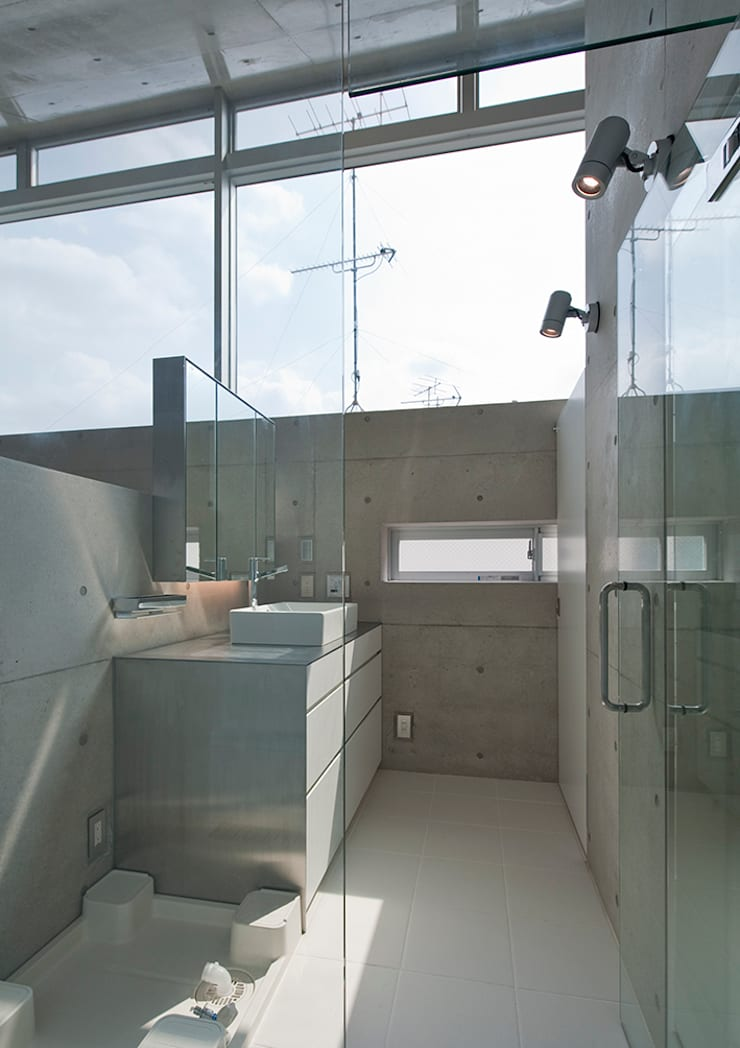 MKR: 一級建築士事務所アトリエソルト株式会社が手掛けた浴室です。