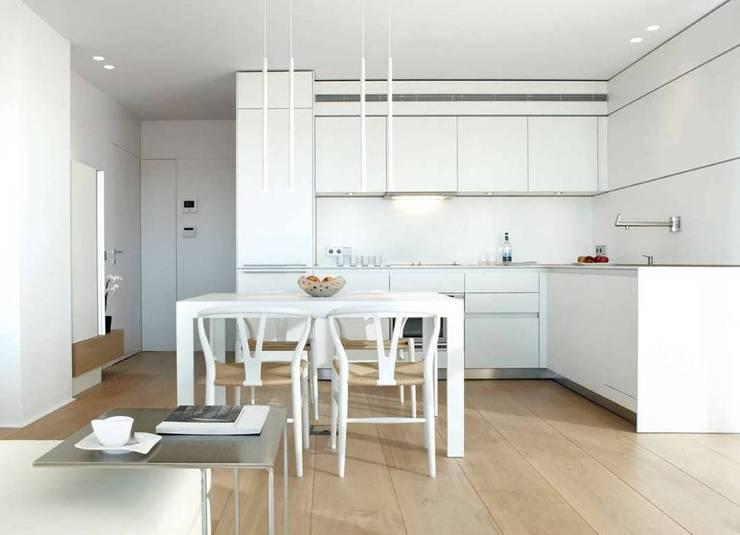 minimalistic Kitchen by ruiz narvaiza associats sl