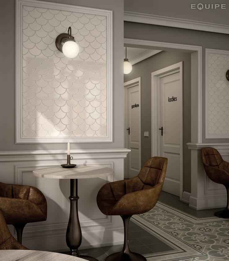 Гостиная в . Автор – Equipe Ceramicas, Эклектичный Керамика