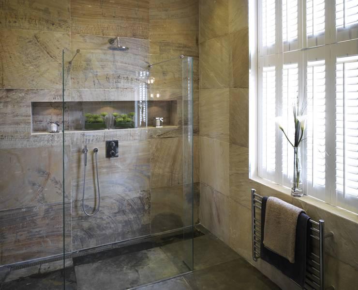 Marlowe House, Chigwell:  Bathroom by Boscolo