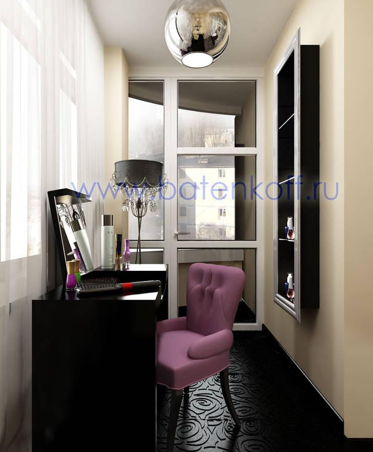 Дизайн проект спальни в стиле ардеко в квартире: Гардеробные в . Автор – Дизайн студия 'Дизайнер интерьера № 1'
