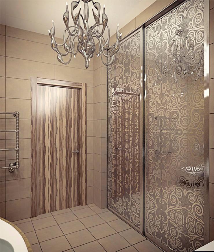 Emerald-green hills: Ванные комнаты в . Автор – Alena Gorskaya Design Studio