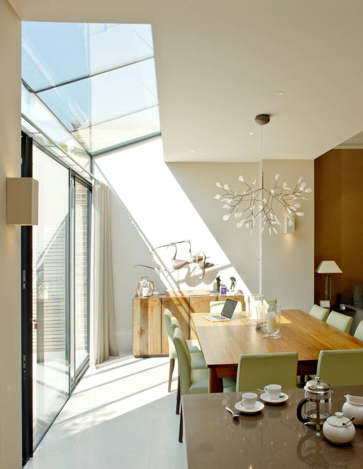 Comedores de estilo  de Nash Baker Architects Ltd, Moderno