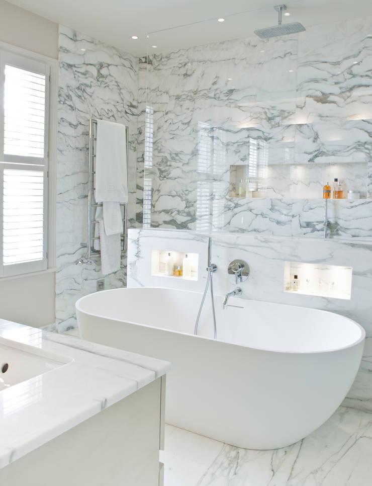Baños de estilo  de Nash Baker Architects Ltd, Moderno