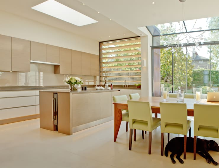 moderne Keuken door Nash Baker Architects Ltd