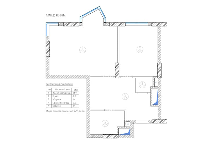 Loft in the elks' island:  в современный. Автор – Alena Gorskaya Design Studio, Модерн