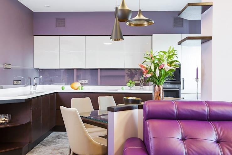Dining room by Alena Gorskaya Design Studio, Minimalist