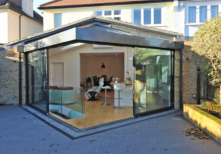 Conservatory by Paul Wiggins Architects