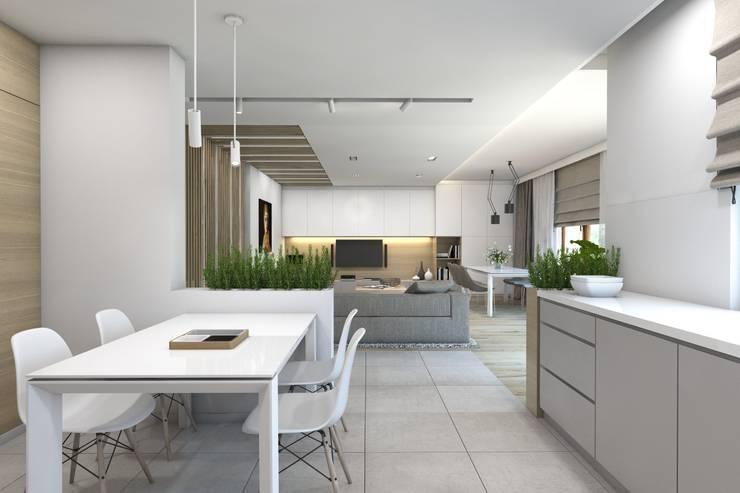 Keuken door BAGUA Pracownia Architektury Wnętrz