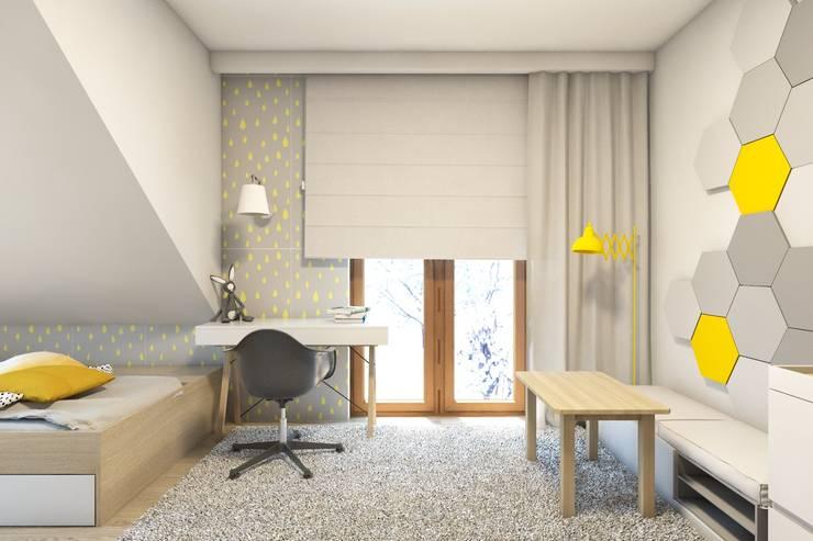 BAGUA Pracownia Architektury Wnętrzが手掛けた子供部屋