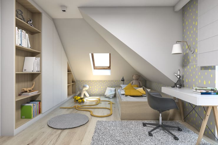 BAGUA Pracownia Architektury Wnętrz의  아이방