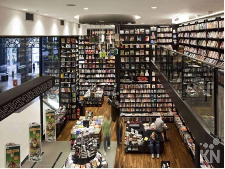 Saraiva – Shopping Higienópolis | SP Lojas & Imóveis comerciais modernos por KN Associados Moderno