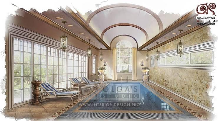Дизайн бассейна в стиле прованс: Бассейн в . Автор – Olga's Studio