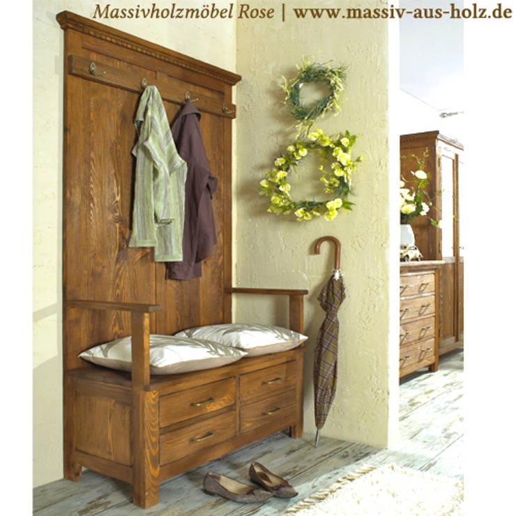 Dielenmobel Garderoben Und Flurschranke Von Massiv Aus Holz Homify