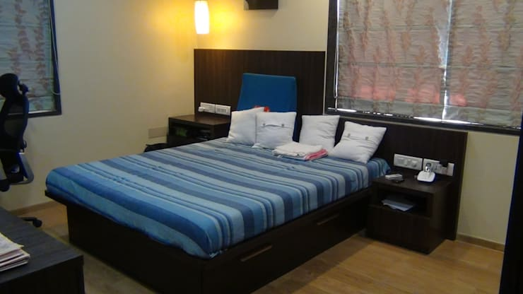 Apartment:  Bedroom by TWISHA THAKKER