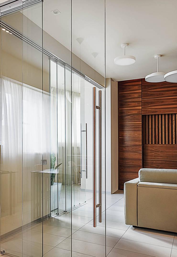 Апартаменты в Куркино: Гостиная в . Автор – K-Studio