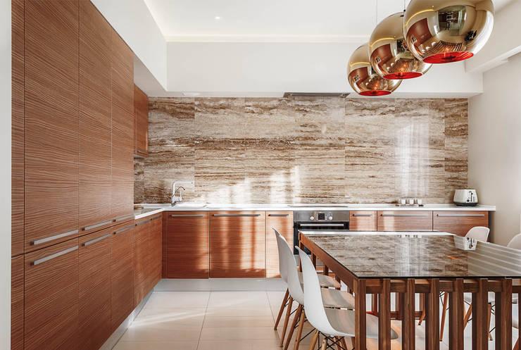 Апартаменты в Куркино: Кухни в . Автор – K-Studio