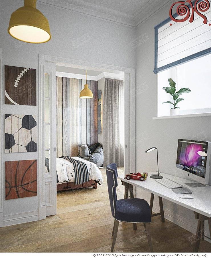 Дизайн детской комнаты в стиле прованс для мальчика: Детские комнаты в . Автор – Дизайн студия Ольги Кондратовой,