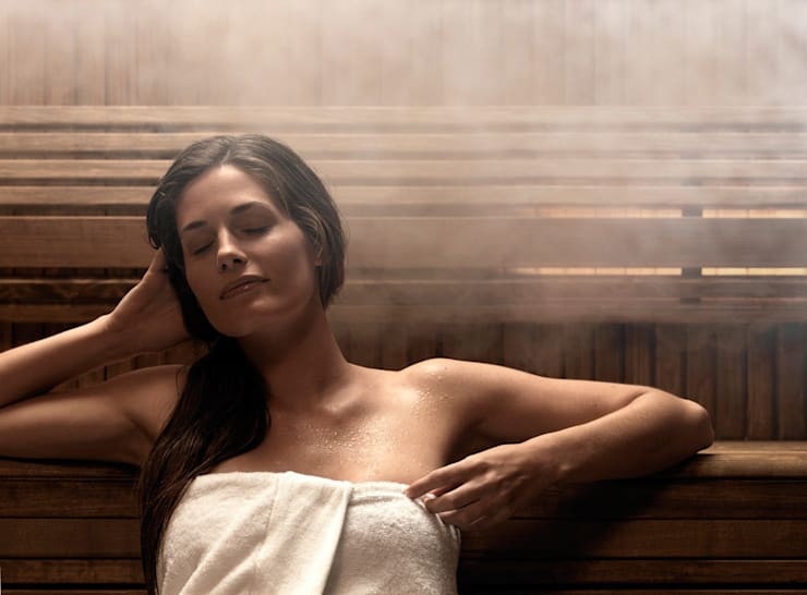 Purpura Banyo & Wellness – Tylö Sauna ve Buhar Odaları:  tarz Spa
