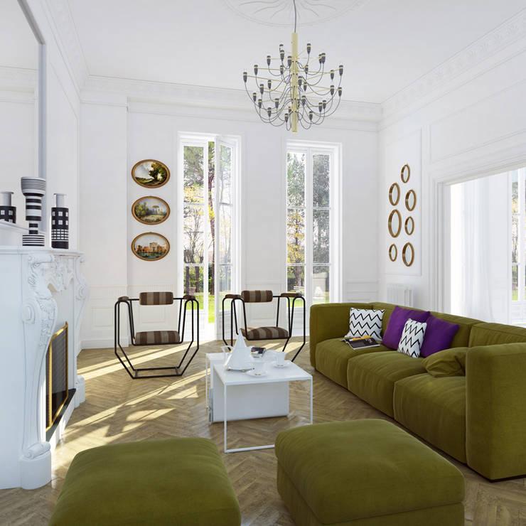 Living room by plasma