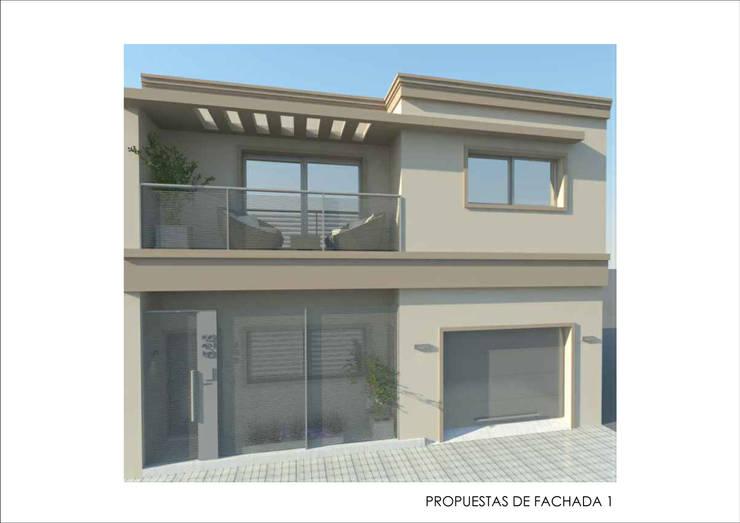 Дома в . Автор – Ronda Estudio