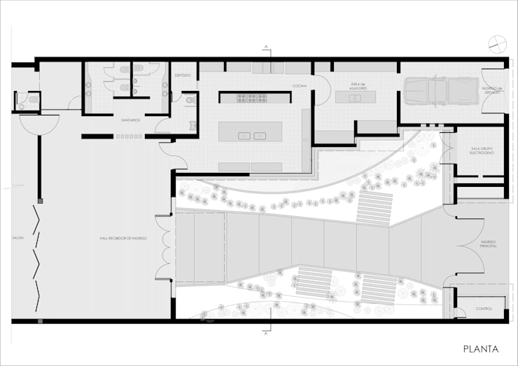 S.U.M: Salas de eventos de estilo  por Ronda Estudio,