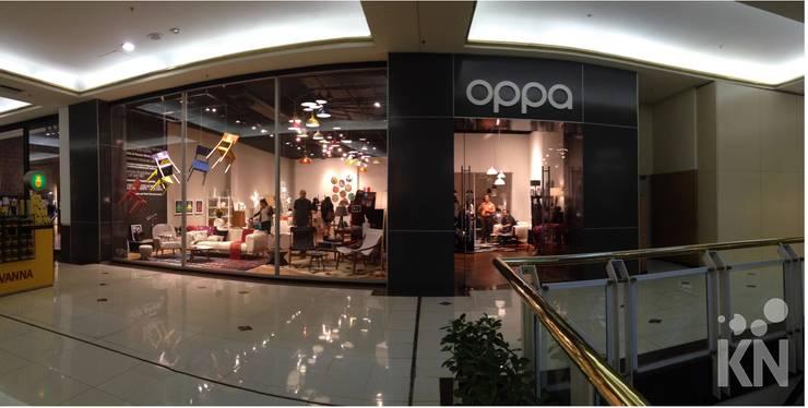 Oppa Pop Up Store - SP Market Place | SP: Lojas e imóveis comerciais  por KN Arquitetura
