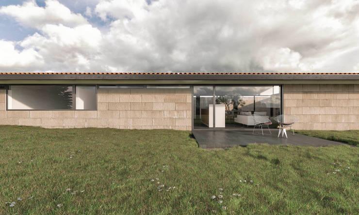 Casas de estilo  por infografia 3D - arquitectura interior