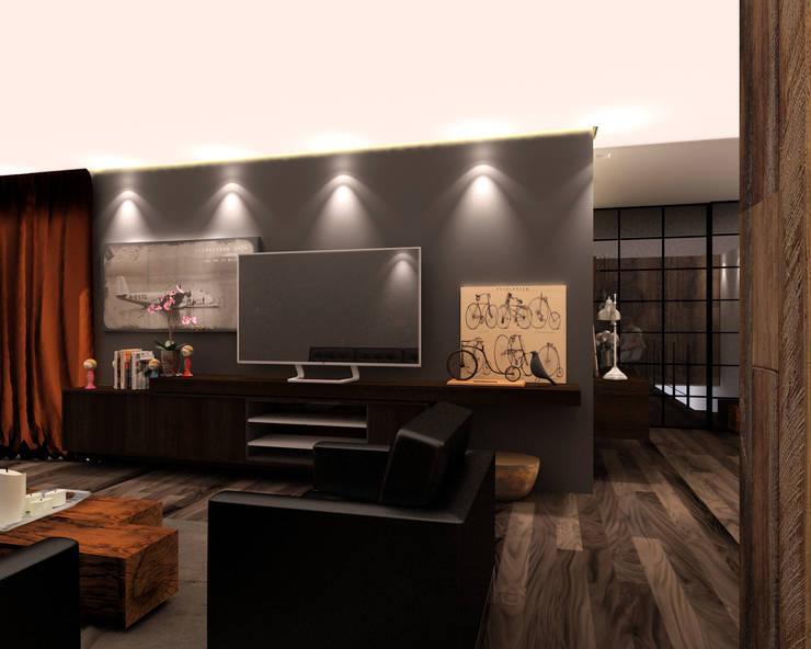 Departamento BM: Salas de estilo  por Taller 03