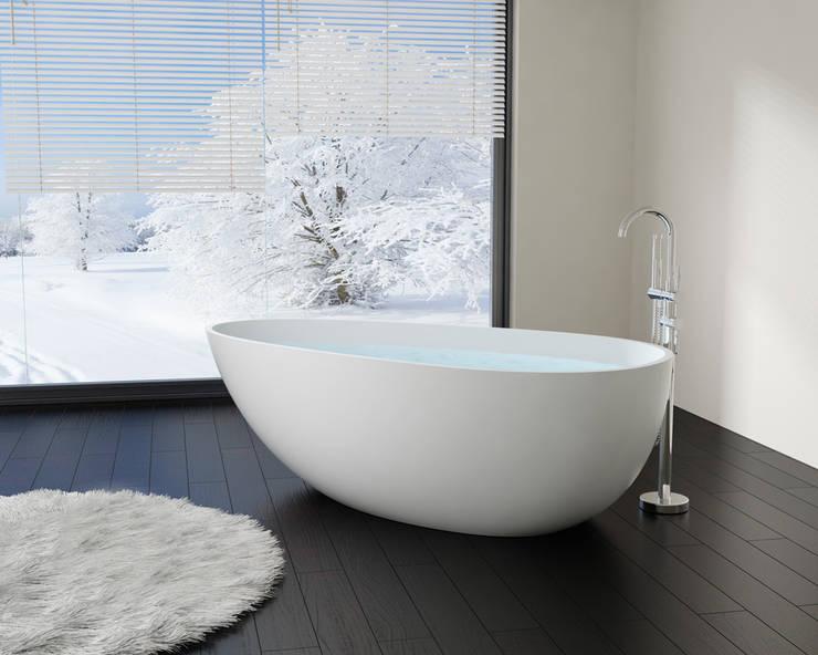 BW-01 L Bañera Exenta:  Bathroom by Badeloft