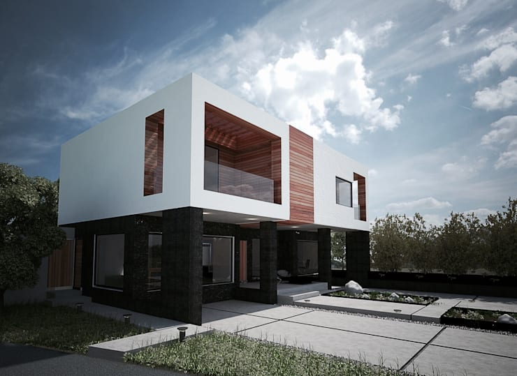Houses by DOSA studio,