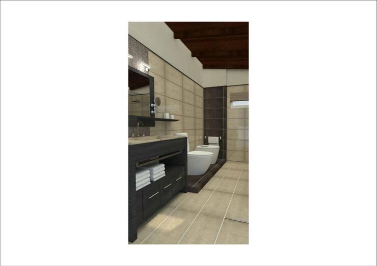 Phòng tắm theo Ronda Estudio, Hiện đại