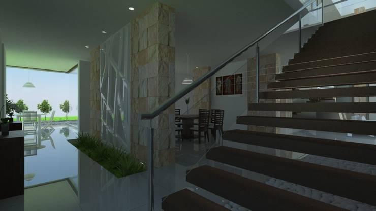 Vista de Comedor: Comedores de estilo  por JRK Diseño - Studio Arquitectura