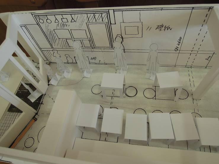 模型写真: 一級建築士事務所 街角企画株式会社が手掛けたです。