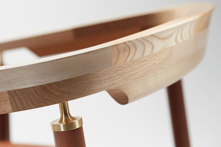 Ostinato seriese Arm Chair: MOCTAVEが手掛けたダイニングルームです。