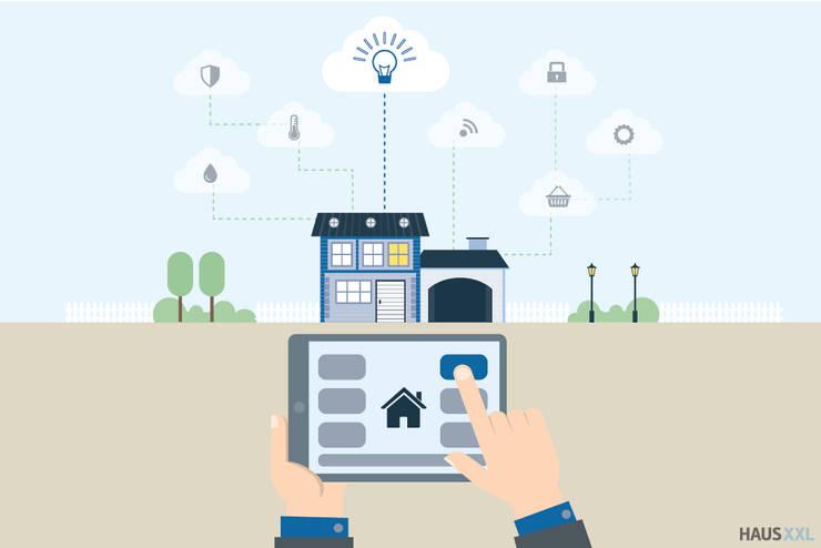 Smart Home, Smart Living : moderne Wohnzimmer von Hagen Petters - Freier Autor und Journalist