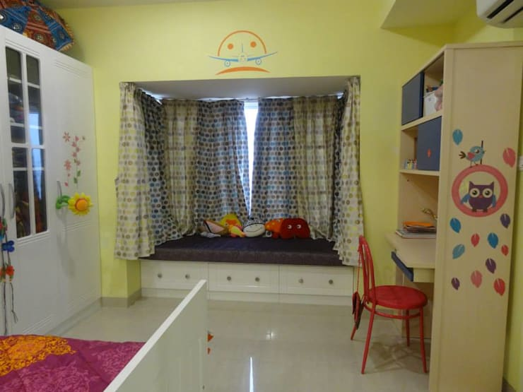 Victorian interiors.: modern Nursery/kid's room by Freelance Designer