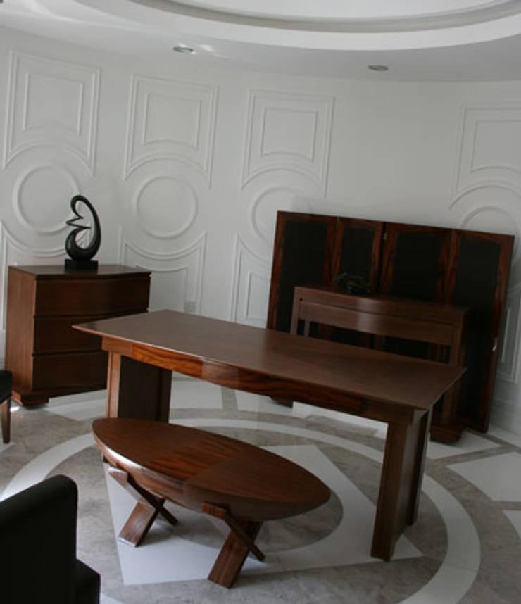 STİLART MOBİLYA DEKORASYON İMALAT.İNŞAAT TAAH. SAN.VE TİC.LTD.ŞTİ. – M.H Evi Kıbrıs:  tarz Oturma Odası, Modern