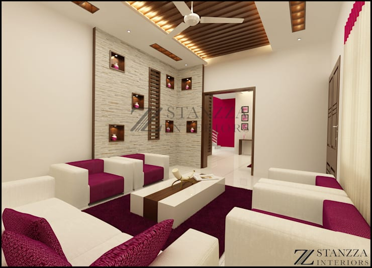 Nizar, Manilala:  Living room by stanzza