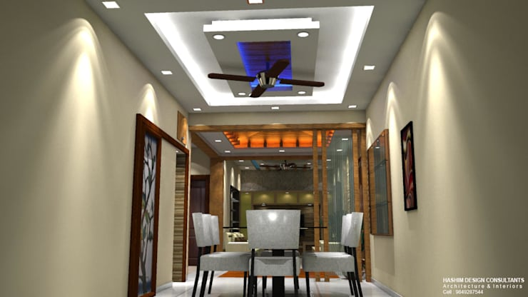Residence:  Dining room by Al Imaraa