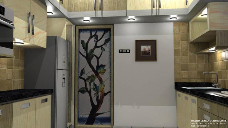 Residence:  Kitchen by Al Imaraa