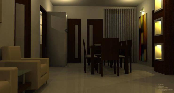 Residence: modern Dining room by Al Imaraa