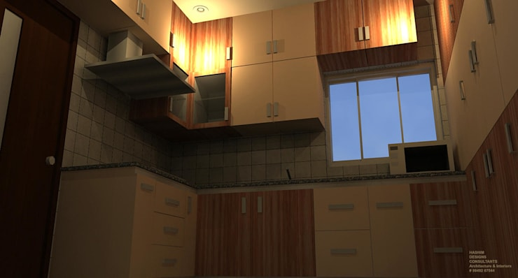 Residence: modern Kitchen by Al Imaraa